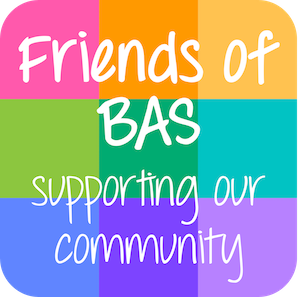 Friends of BAS button