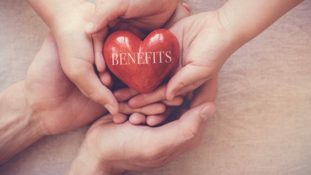 Heart with benefits