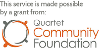 This service is made possible by a grant from Quartet