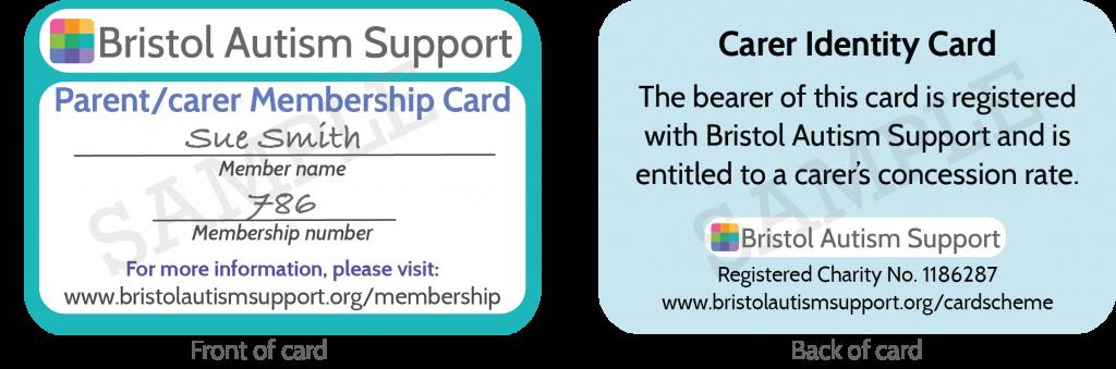 BAS carer id card