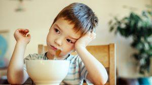Autistic boy with food sensitivities